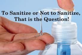 Sanitizer pin