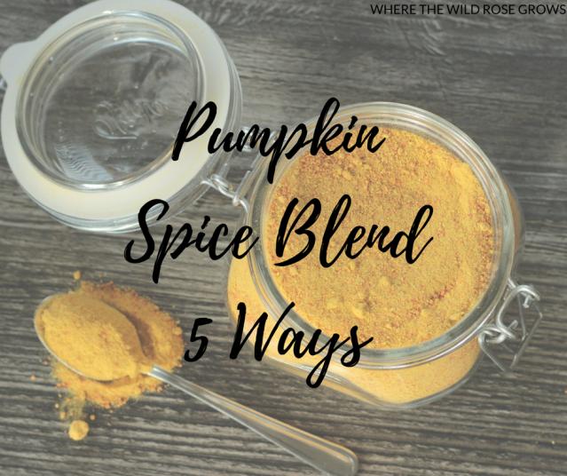 Pumpkin Spice Blend 5 Ways